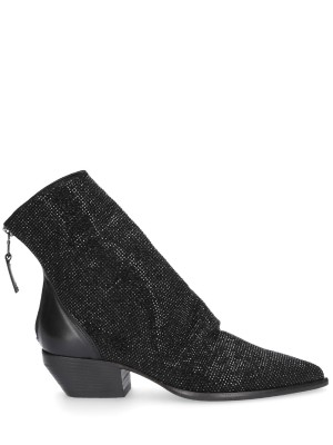 Black low Ankle Boots