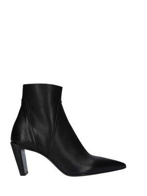 70mm Black Ankle Boots