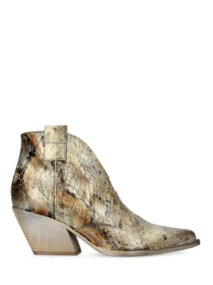 Snakestamp Texan Ankle Boots