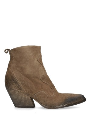 Texan suede ankle boot