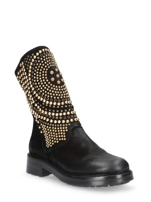 40mm Black Ankle boots