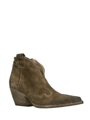 Texan Suede Ankle Boots