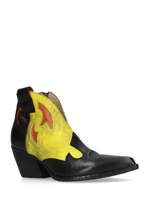 BLACK LEMON ANKLE BOOTS