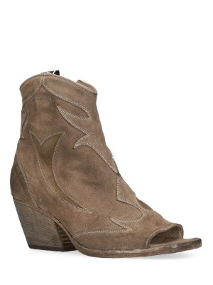 OPENTOE TEXAN ANKLE BOOTS
