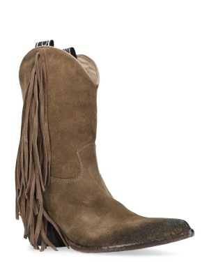 Texan fringed boots