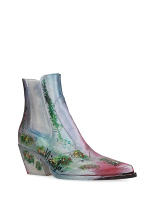 Hand painted texan boot